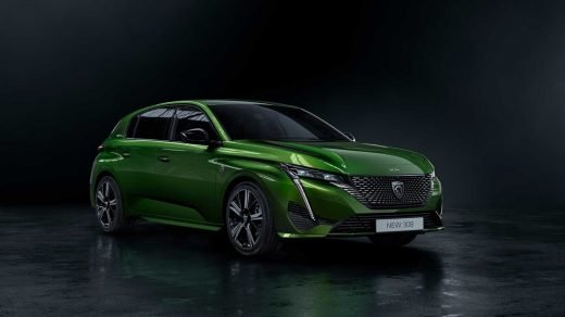 New Peugeot 308- first pictures of 2021 hybrid revealed